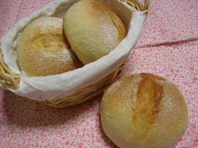 米粉入りまん丸パン