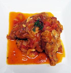 〜鶏手羽〜 チキンのトマト煮