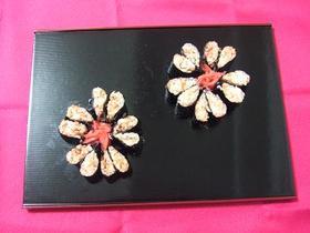 桜の巻き寿司