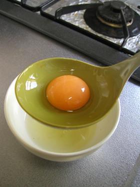 子供でもできる☆卵黄と卵白の分け方