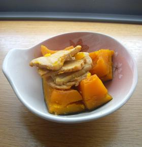 炊飯器で煮物(かぼちゃ)