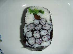 可愛い巻き寿司☆ぶどう☆