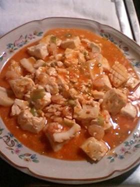 ■海鮮豆腐チゲ風~ピリリ♪