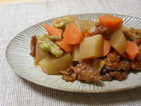 副菜~大根と練り天の煮物
