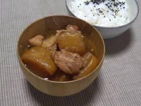 やさしい味!鶏肉と大根の煮物 (和風)