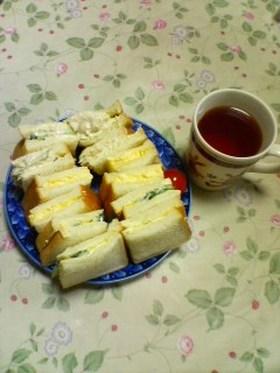我が家の定番サンドイッチ