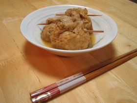 豆腐とひじきの巾着