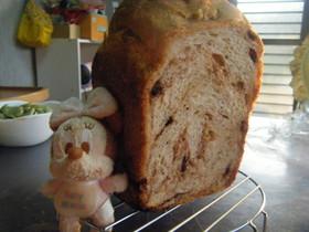 幸せのロイヤルミルクティーチョコ食パン☆