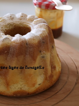 キャラメルマーブルバターケーキ