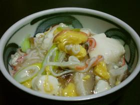やさしい~♪豆腐と玉子のふんわり煮