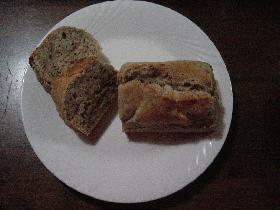 バナナとBBのパウンドケーキ