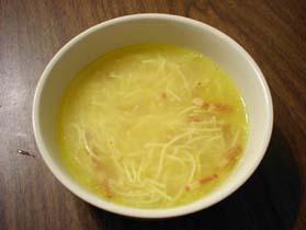 甥の好きな謎の黄色いスープ