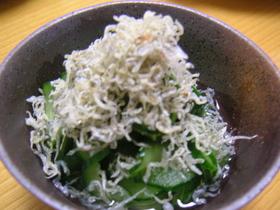 きゅうりの酢の物☆レモン風味