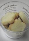 ノンバターでさくさく米粉レモンクッキー。