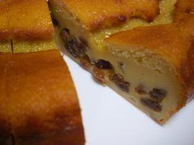 簡単! ラムレーズン&ヨーグルトのケーキ