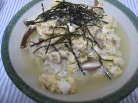 鶏のスープ丼