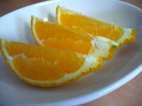 重曹で♪しゅわしゅわ~なオレンジ♪