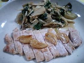 チェンジ!豚のにんにく焼き→生姜焼き