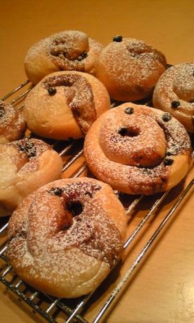 おうちでパン屋☆チョコinマシュマロール