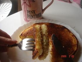 パンケーキのクイニーアマン風♪