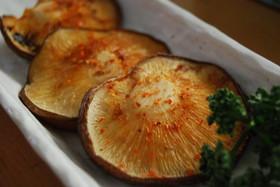 簡単!椎茸のマヨネーズ焼き