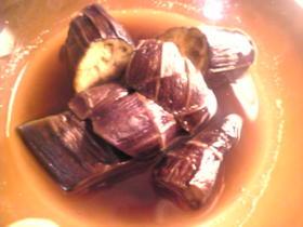 茄子の煮物