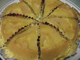 りんごのケーキ☆ホットケーキミックスで☆