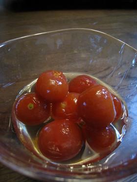 ミニトマトのはちみつ漬け