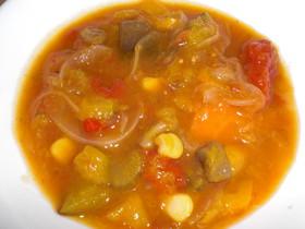 燃焼系?!野菜たっぷりスープ