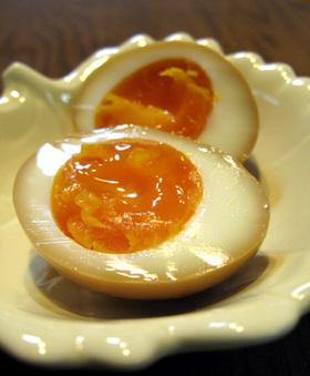 とろ~り半熟の煮卵❤にんにく風味