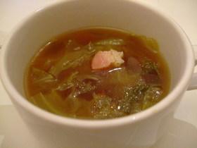 レタススープ♪