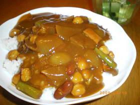 ほっくり豆カレー