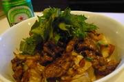 ボリューム!白菜と牛肉の甘辛どんぶり!!の写真