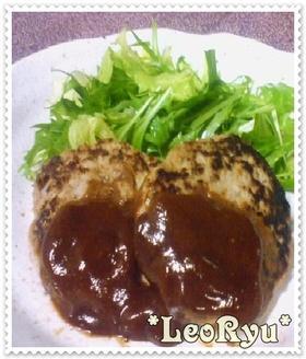 ヘルシー★豆腐とおからのハンバーグ★