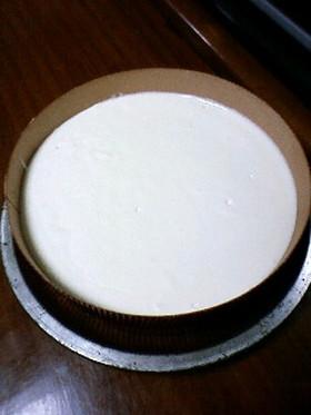まぜて冷やすだけ♪簡単レアチーズケーキ☆