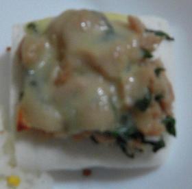 簡単★はんぺんのツナチーズ焼き