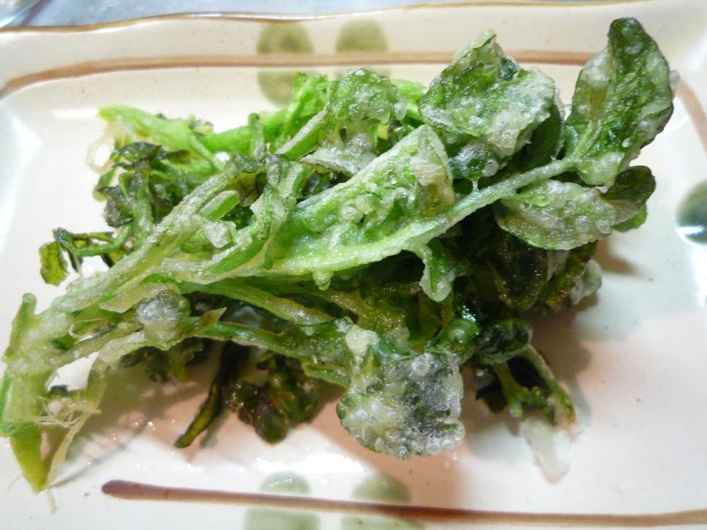 クレソン 天ぷら レシピ
