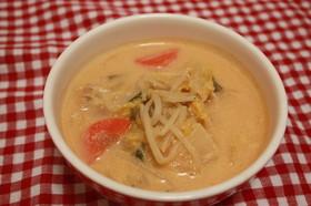 野菜たっぷり☆豆乳キムチスープ