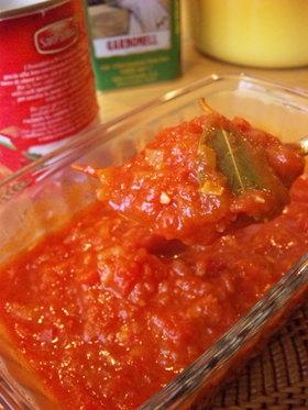 うちの「基本トマトソース」