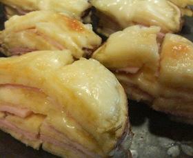 さつま芋deミルフィーユ☆ハム&チーズ