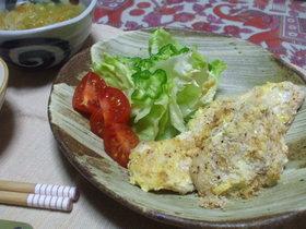 鶏ムネ肉のマヨチーズ焼き