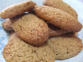 モカチョコ味のざくざくクッキー