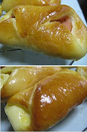 ハム・チーズパン