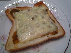 簡単!マルゲリータ風トースト