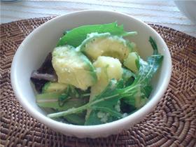 アボカドとポテトのシンプルサラダ