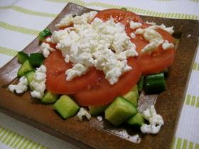 卵白&牛乳消費★カッテージチーズサラダ