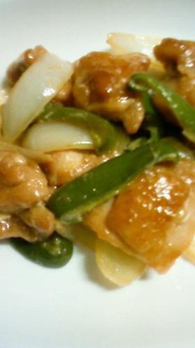 鶏とピーマンのマヨポン炒め