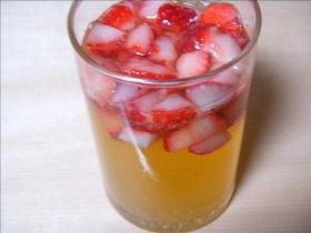 イチゴのお酒