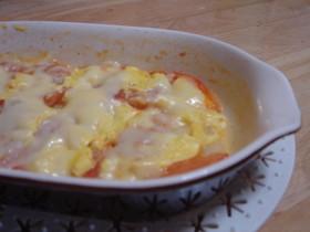 簡単★マヨトマポテチーズ