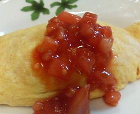 ♪トマトなトマトなオムライス♪